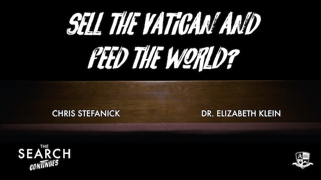 Sell the Vatican and Feed the World?
