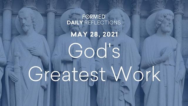 Daily Reflections – May 28, 2021