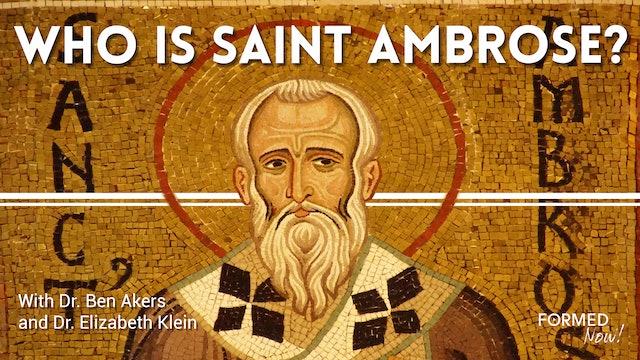 Who is Saint Ambrose?
