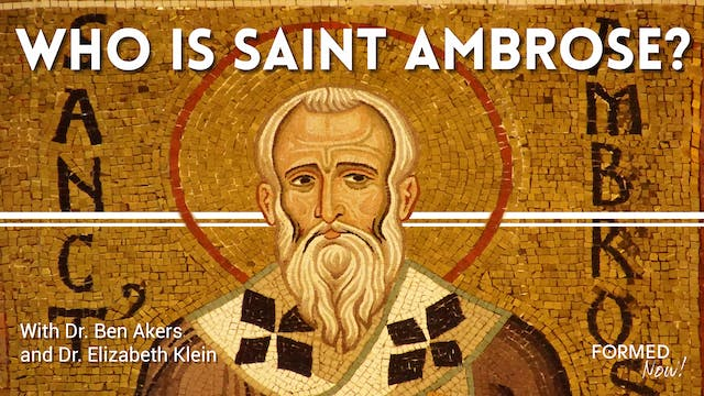Who is Saint Ambrose?