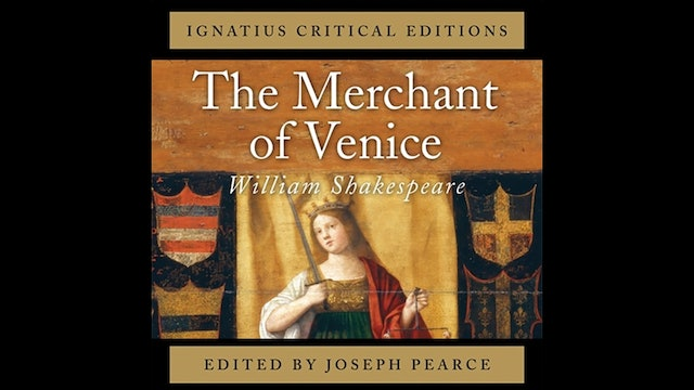 The Merchant of Venice by William Shakespeare, audio book, ed. by Joseph Pearce