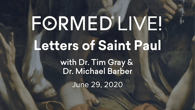 FORMED Now! Letters of Saint Paul