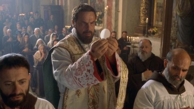 Padre Pío entre el cielo y la tierra