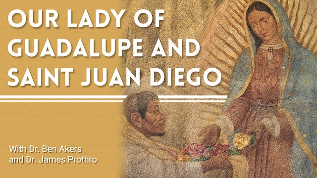 Our Lady of Guadalupe and Saint Juan Diego