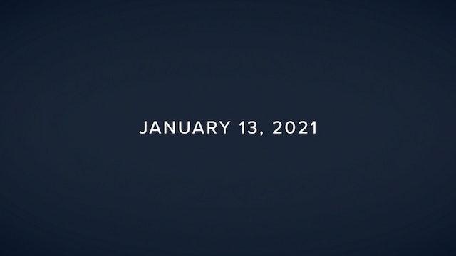 Daily Reflections – January 13, 2021