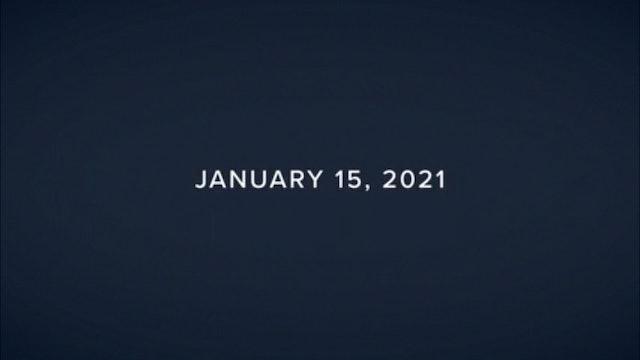 Daily Reflections – January 15, 2021