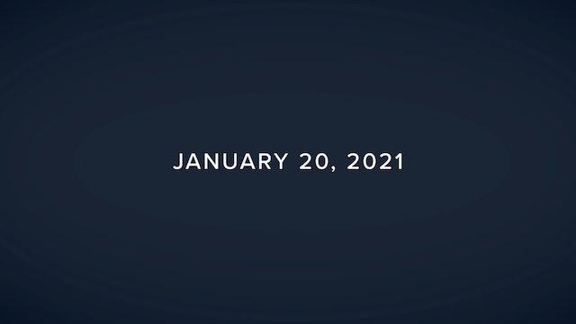 Daily Reflections – January 20, 2021
