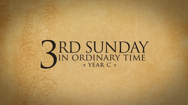 3rd Sunday in Ordinary Time (Year C)
