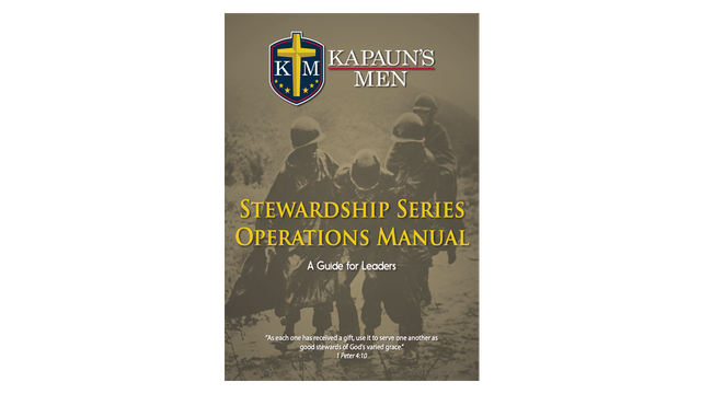 Kapauns Men Stewardship Series Operations Manual