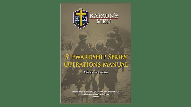 Kapaun's Men Stewardship Series Operations Manual