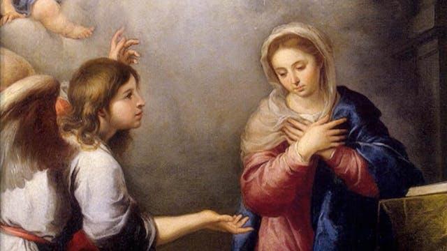 María, un modelo para el cristiano