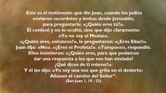 Juan el Bautista y Jesús