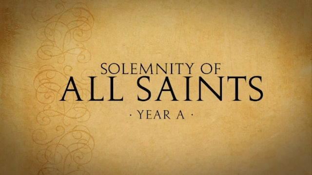 All Saints Day - November 1, 2020