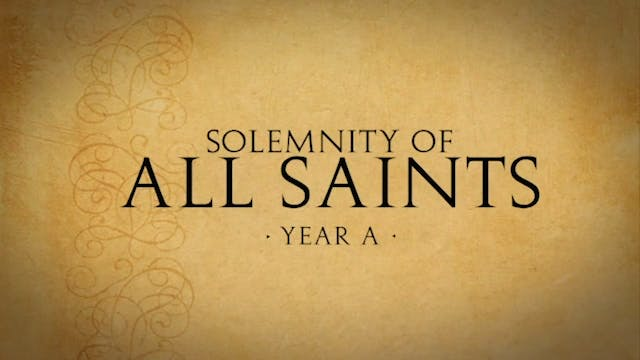 All Saints Day (Year A)