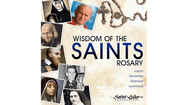 Wisdom of the Saints Rosary: Joyful Mysteries