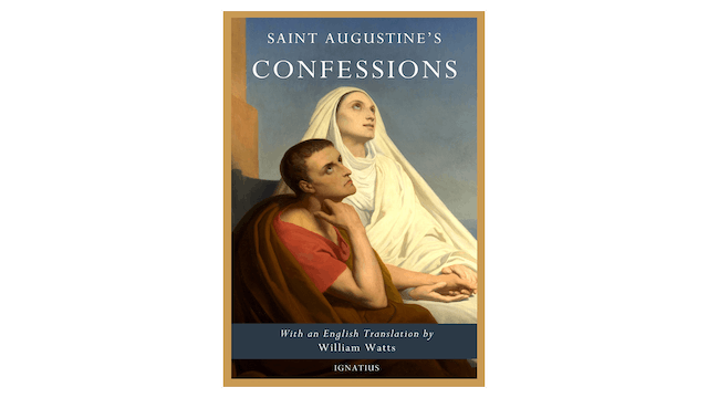 Saint Augustine's Confessions in Latin and English by St. Augustine