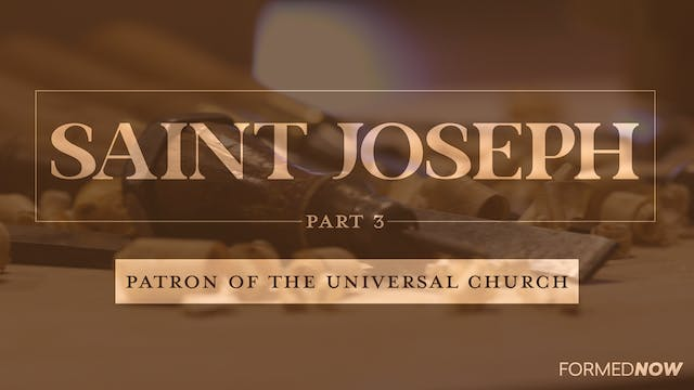 St Joseph: Patron on the Universal Ch...