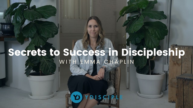 Secrets to Success in Discipleship