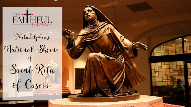 East Coast Shrines: National Shrine of St Rita of Cascia