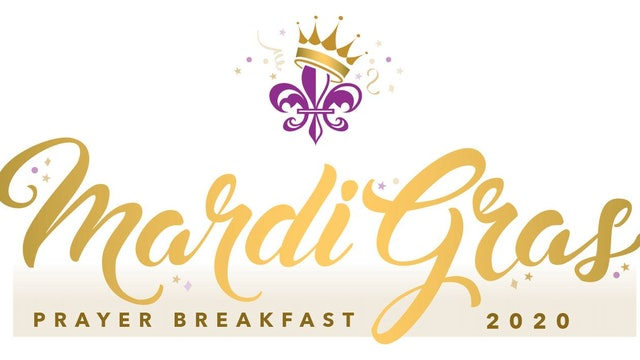 Mardi Gras Prayer Breakfast - February 25th, 2020