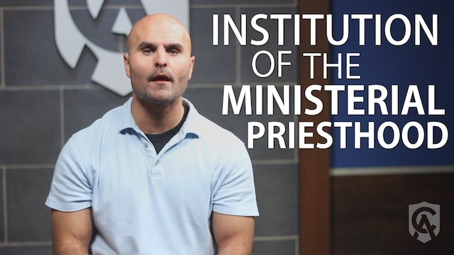 Did Jesus Make the Apostles Priests?