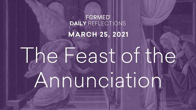 Lenten Daily Reflections – Feast of t...