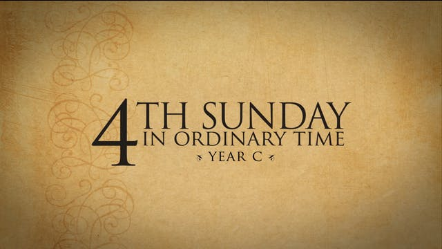 4th Sunday in Ordinary Time (Year C)