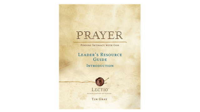 Lectio: Prayer Leader Guide PDF OLD