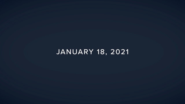 Daily Reflections – January 18, 2021