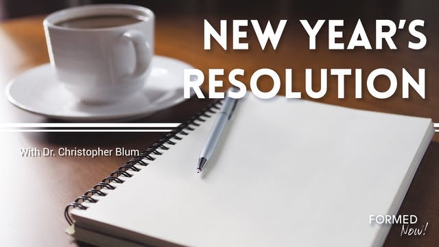 FORMED Now! New Year's Resolution