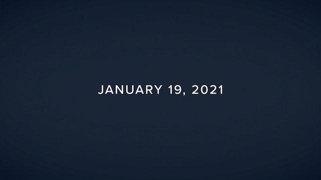 Daily Reflections – January 19, 2021