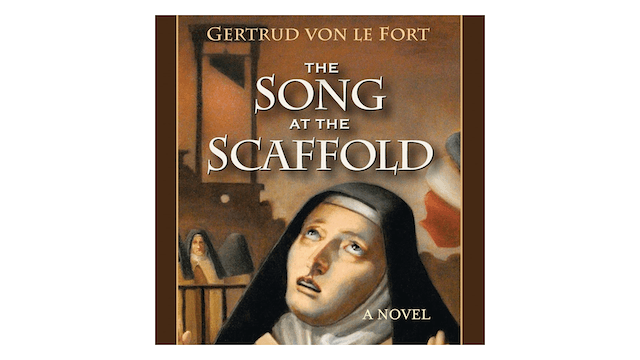 The Song of the Scaffold: A Novel by Karen Savage