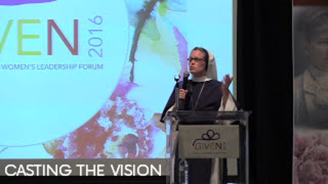 Casting the Vision - Sr. Mary Gabriel Devlin S.V.