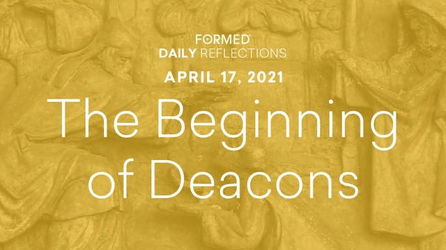 Easter Daily Reflections – April 17, ...