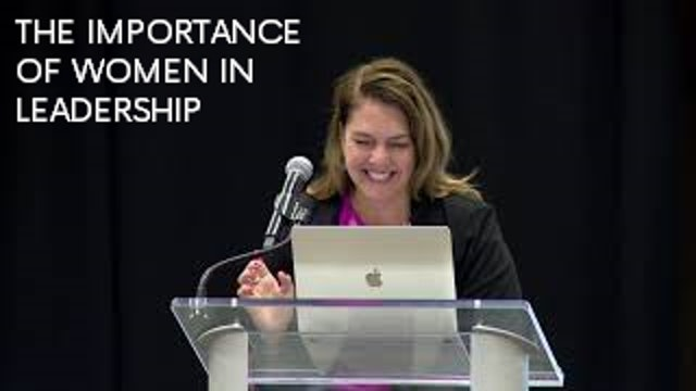 The Importance of Women in Leadership - Kerry Alys Robinson