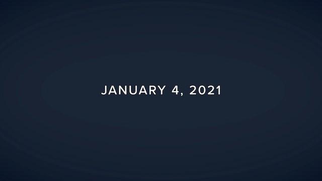 Daily Reflections – January 4, 2021