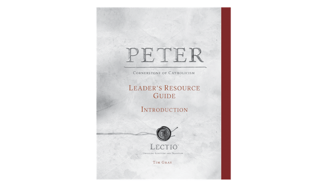 Lectio: Peter Leader's Guide