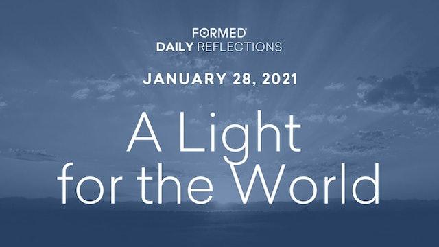 Daily Reflections – January 28, 2021