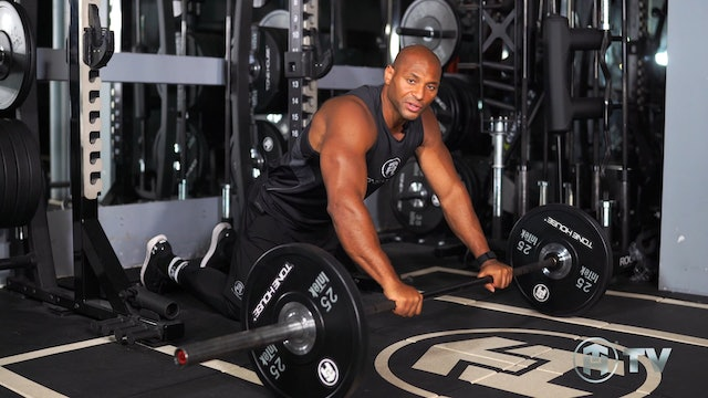 THE BARBELL ROLL-OUT