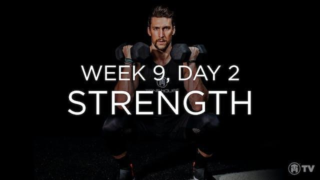 WEEK 9 | DAY 2: STRENGTH