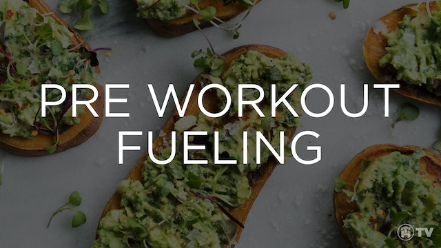 HOW TO FUEL PRE-WORKOUT