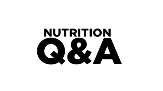 NUTRITION MYTHS PART TWO