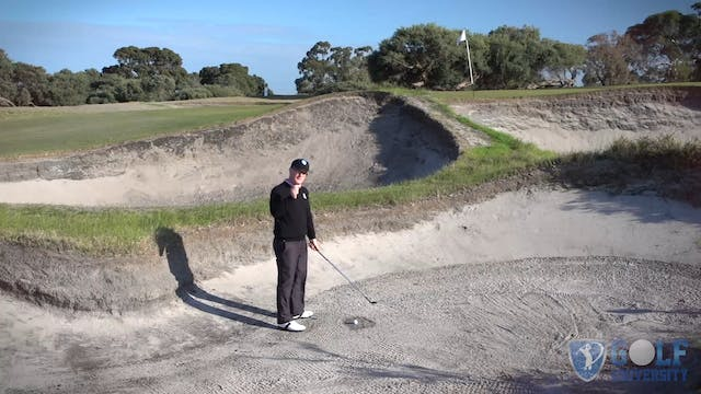 How To Hit Out Of Wet Packed Sand In ...