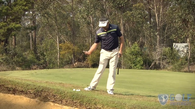 How to Chip From a Downhill Lie