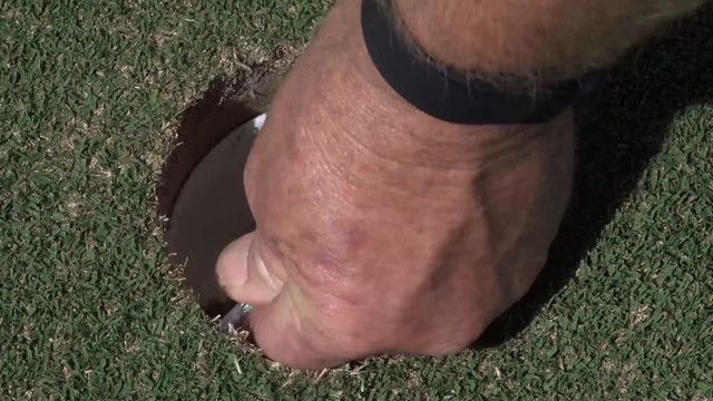 The Tee In The Hole Putting Drill