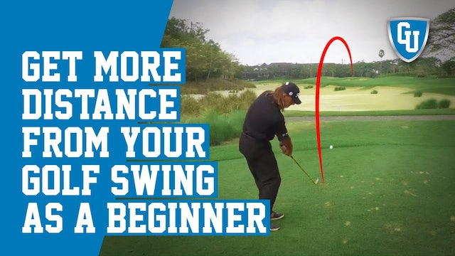 How to Get More Distance From Your Golf Swing As a Beginner