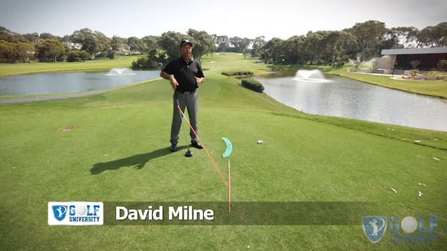 The Driving Swing Path Drill