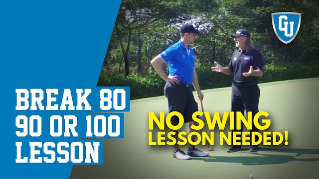 Break 80 | Golf Playing Lessons to Lo...