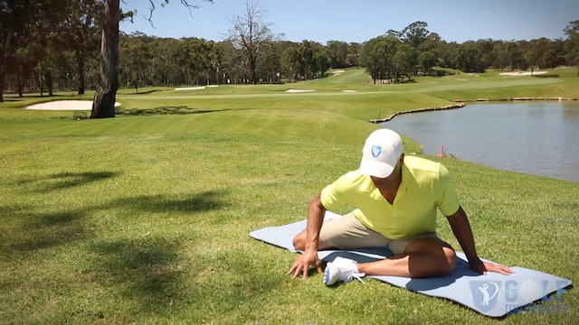 The Glute Stretch for Golf