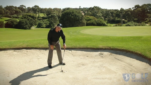 How to Hit a Fried Egg / Plugged Lie Out of the Bunker